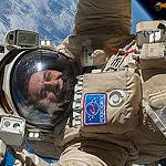 Sergey Ryazanskiy Conducts a Spacewalk