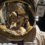Sergey Ryazanskiy Photographs Himself During a Spacewalk