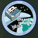 Insignia for the joint GFSC/University of Colorado Spartan-Halley Payload
