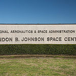 JSC2013E014000(06/03/2013) --- Johnson Space Center Sign located on NASA Parkway leading toward main gate. The Johnson Space Center is in Houston Texas. Photo credit NASA,  BILL STAFFORD.