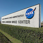 JSC2011E022878 (06/03/2013) --- Johnson Space Center Sign located on NASA Parkway leading toward main gate. The Johnson Space Center is in Houston Texas. Photo credit NASA,  BILL STAFFORD.